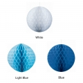 Tissue Honeycomb Ball Decoration Large 30cm White